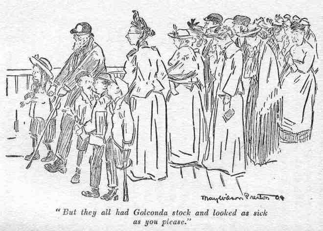 Golconda stockholders